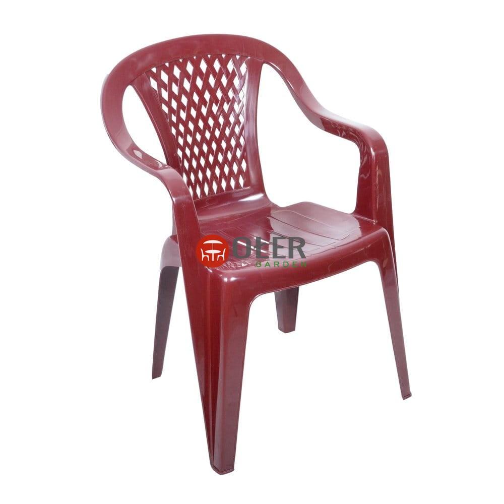 Fotel Diament Ogrodowy Bordo K