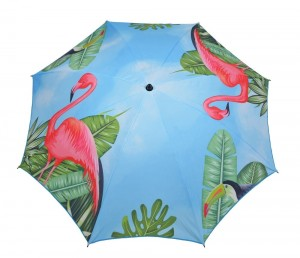 Parasol 200cm. POLY - flaming