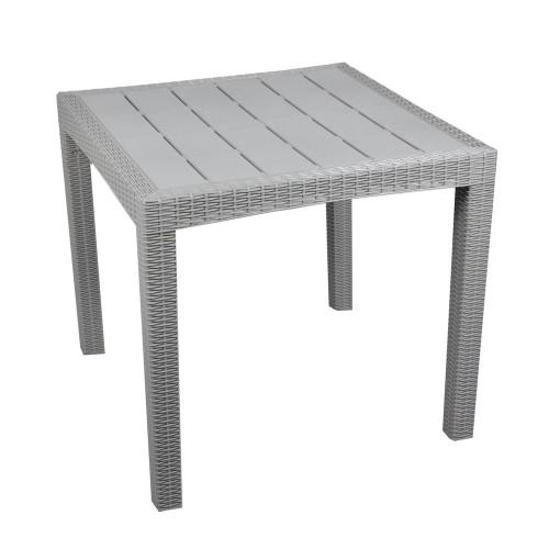 Stół Dia 80x80cm Deska Szary K